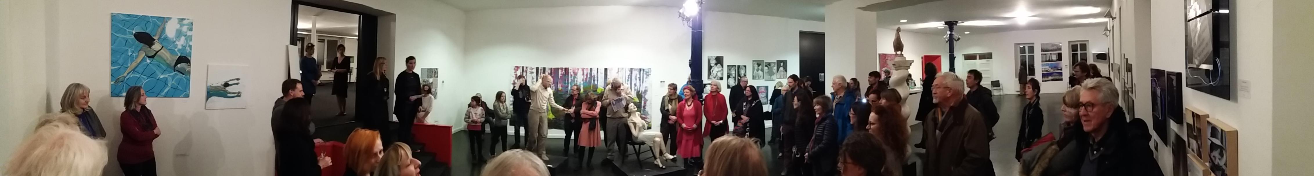 Vernissage: Eröffnung des Diessener Kunstsalon