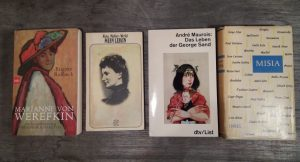 Bücher über Salonnières. Berühmte Frauen und ihre Kunstsalons
