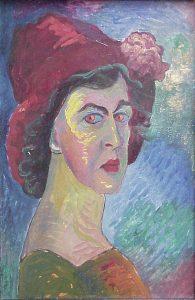 Marianne von Werefkin: Selbstbildnis, 1910