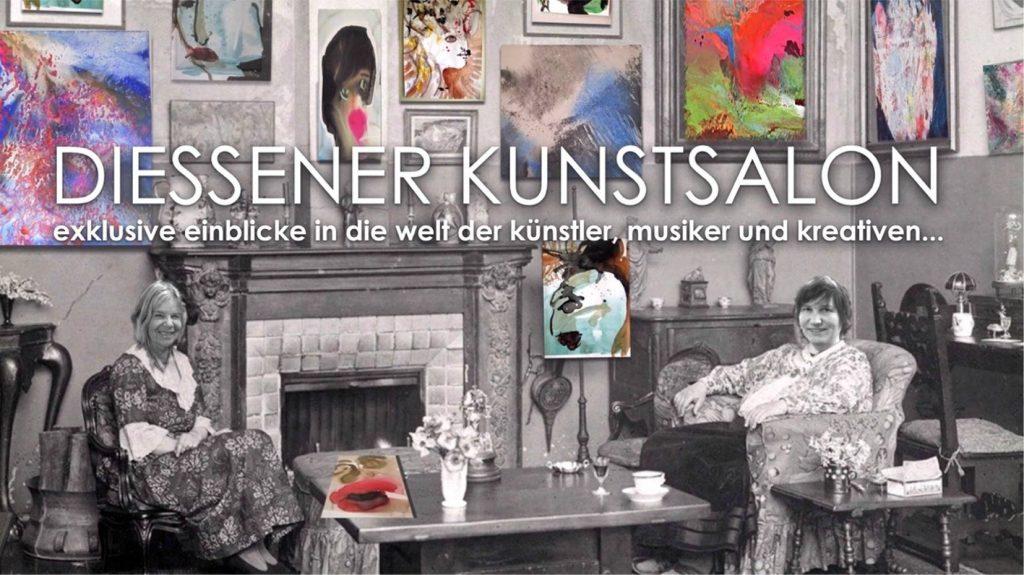 Einladungskarte zum 1.Diessener Kunstsalon